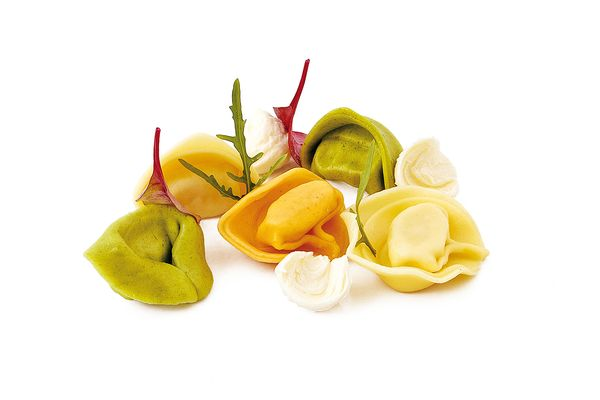 Tortelli tricolori Formaggi tiefgekühlt von Caterline